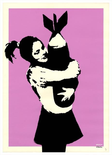 Banksy, 'Bomb love', 2003, Gallery 211