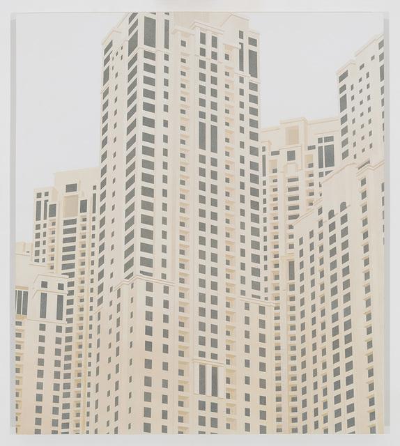 , 'Dubai Marina,' 2016, Peter Blum Gallery