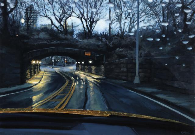 Karen Woods, 'Dawn in Central Park 1', Painting, Oil on Linen, George Billis Gallery