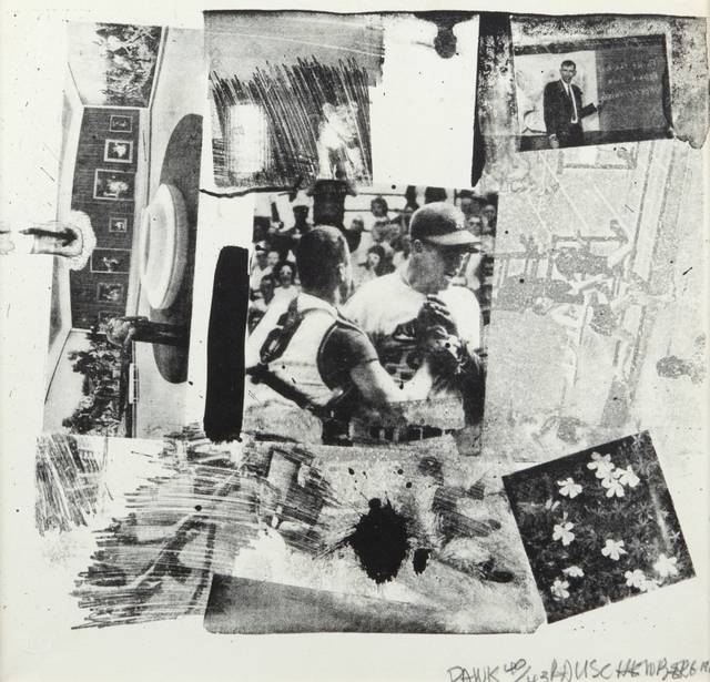 Robert Rauschenberg, 'Untitled', Print, Lithography, Aste Boetto