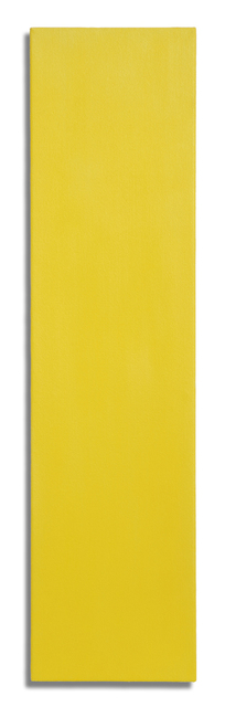 , 'Megalith (yellow),' 2011-2013, Charles Nodrum Gallery