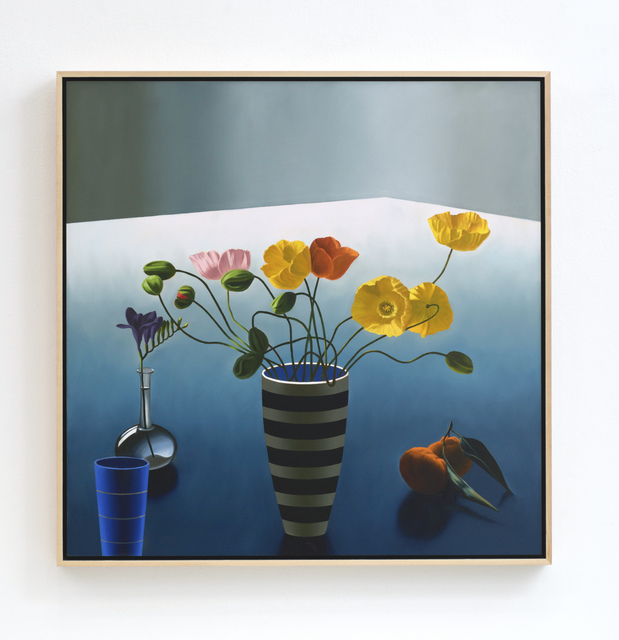 , 'Still life with Icelandic Poppies,' 2018, Leslie Sacks Gallery