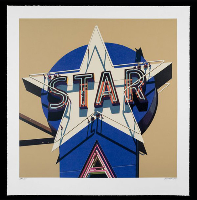 , 'Star, from American Signs Portfolio,' 2009, IFAC Arts