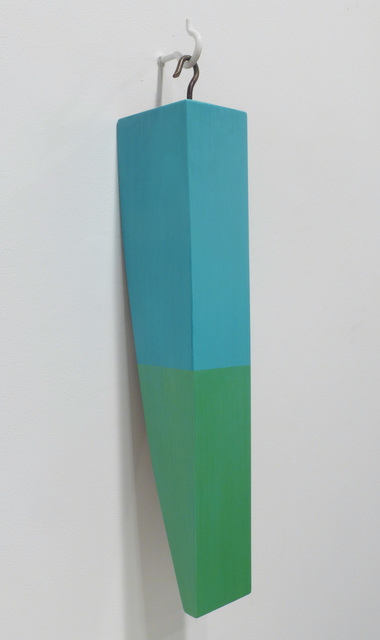 Kevin Finklea, 'Lost & Found #4', 2021, Sculpture, Acrylic on poplar and sapele, Margaret Thatcher Projects