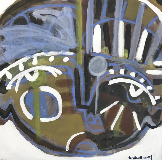 , 'Hamilton Face,' 2017, Spalding Nix Fine Art