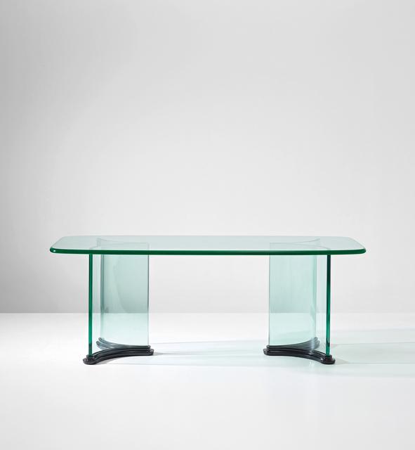Pietro Chiesa, 'Rare table', circa 1935, Design/Decorative Art, Glass, painted wood., Phillips