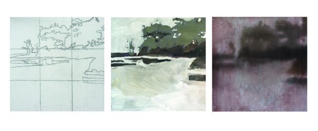 Mary Case, 'The Secret Life of Painting, Brickyard Bayou I-III', Wally Workman Gallery