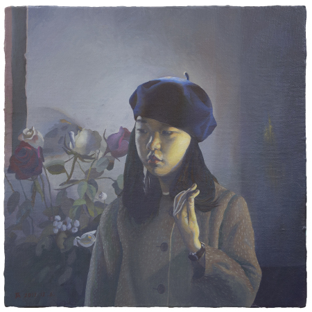 , 'Wu Xiaoke and Flowers 吴小可与花,' 2017, Star Gallery