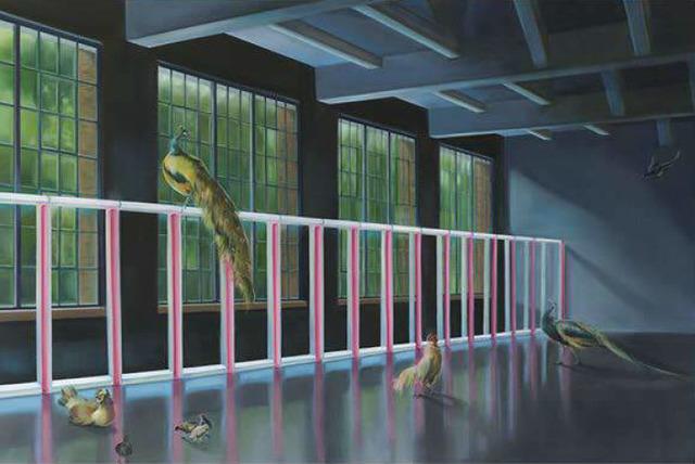 , 'West of Eden 03, (for Melchior de Hondecoeter and Dan Flavin),' 2017, Fridman Gallery