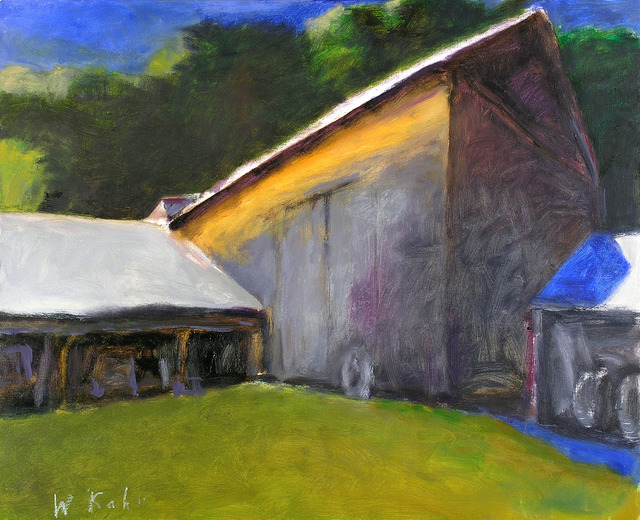 Wolf Kahn, 'DUNKLEE BARN (SMALL VERSION)', 2007, Jerald Melberg Gallery