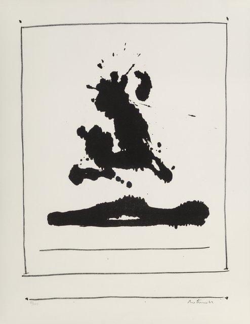 Robert Motherwell, 'New York Internation: Untitled', 1966, Heritage Auctions