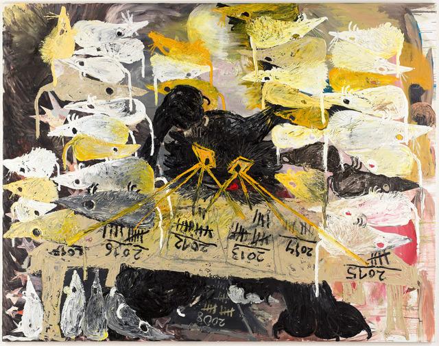 , 'Die Mäusesteuer,' 2018, Anton Kern Gallery