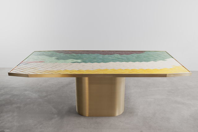 , 'Landscapes table #2,' 2013, Carwan Gallery