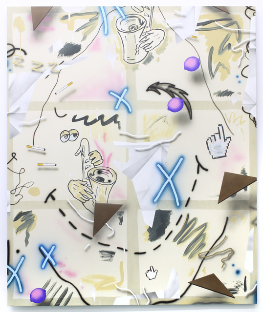 , ' Dirty Blues,' 2015, Johannes Vogt Gallery