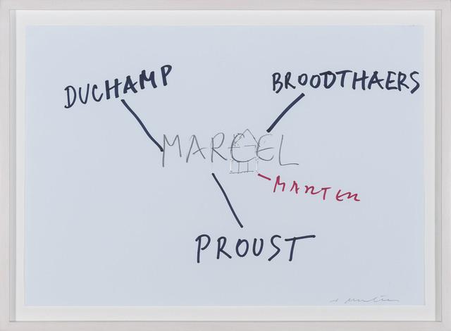 , '4 x Marcel ,' 2012, Aanant & Zoo