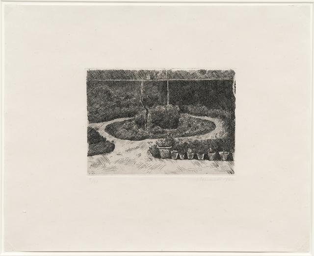 Giorgio Morandi, 'Il giardino di via Fondazza, 1924 (Vitali 25)', 1924, DICKINSON