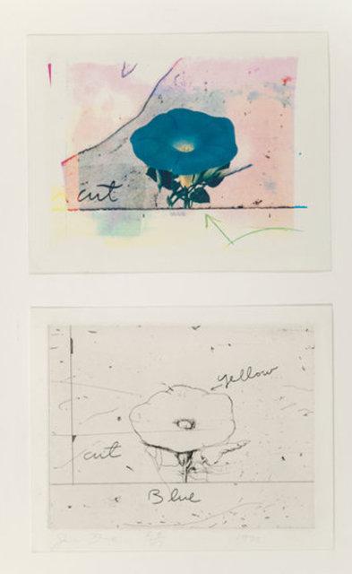 Jim Dine, 'Morning Glory (2 works)', 1972, Portfolio