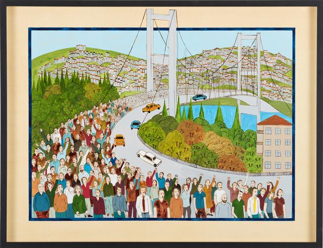 , 'BOĞAZ KÖPRÜSÜ / BOSPHORUS BRIDGE,' 2014, RAMPA