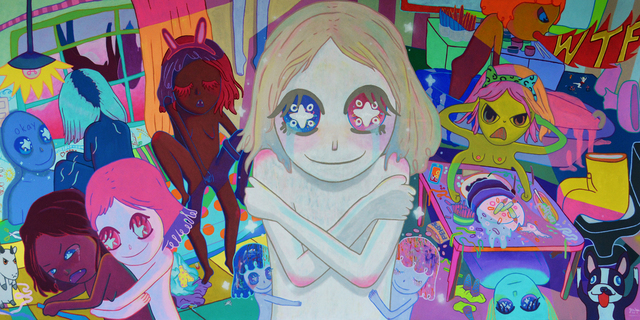 Yeo Kaa, 'It's just a panic attack, I'll be okay, okay? Okay. ', 2017, Painting, Acrylic on canvas, A3 Arndt Art Agency