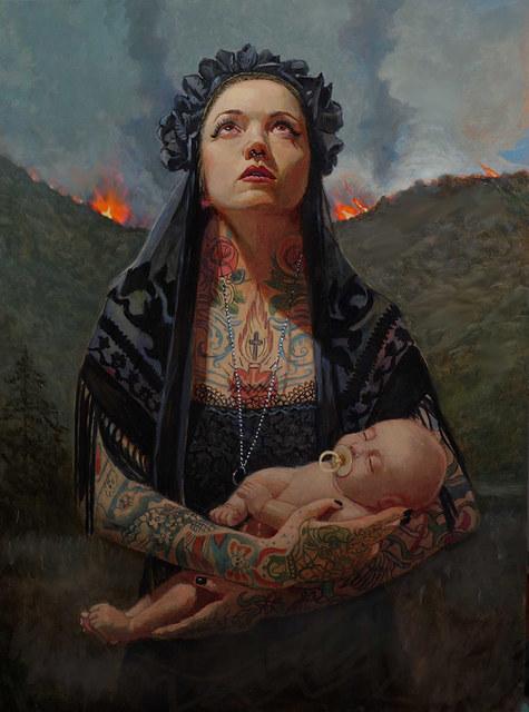 , 'La Tunga Fire,' 2017, Modern Eden