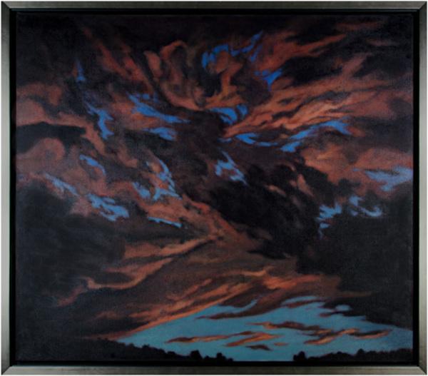 , 'Turbulent Sky,' 1988, David Barnett Gallery