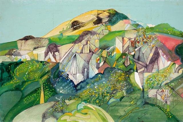, 'Landscape,' 1929-1988, Liss Llewellyn