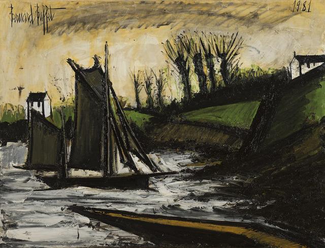 , 'Bateaux en Bretagne,' 1981, BAILLY GALLERY