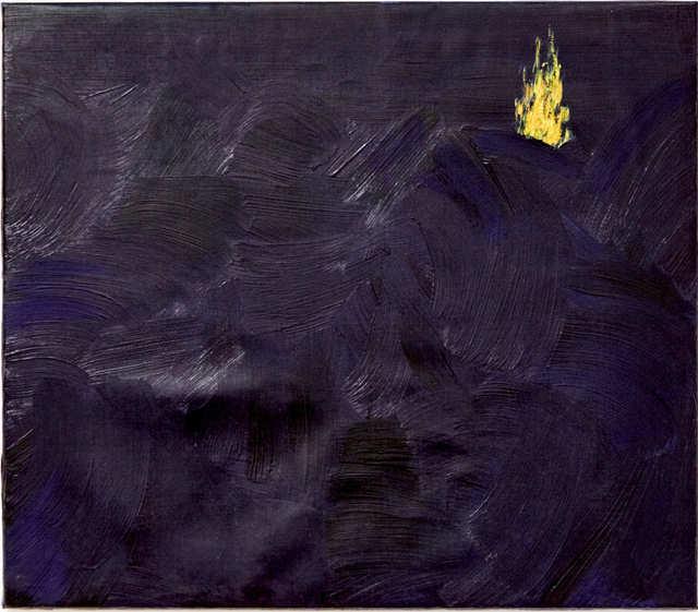 """, 'Fogo mensageiro - """"Ilha queimada, mar revolto"""",' 2014, oh!quadro"""