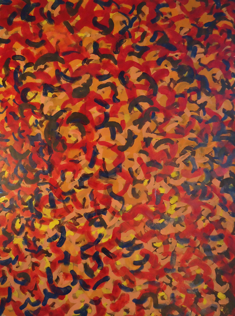 , 'Worm Painting,' 2008, InLiquid