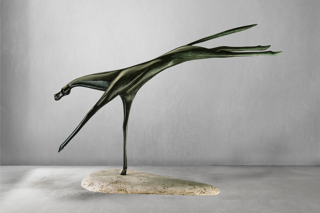 Antonio Signorini, 'Alpha Centauri', 2018, Sculpture, Bronze - Degraded Patina, 71 STRUCTURAL ART