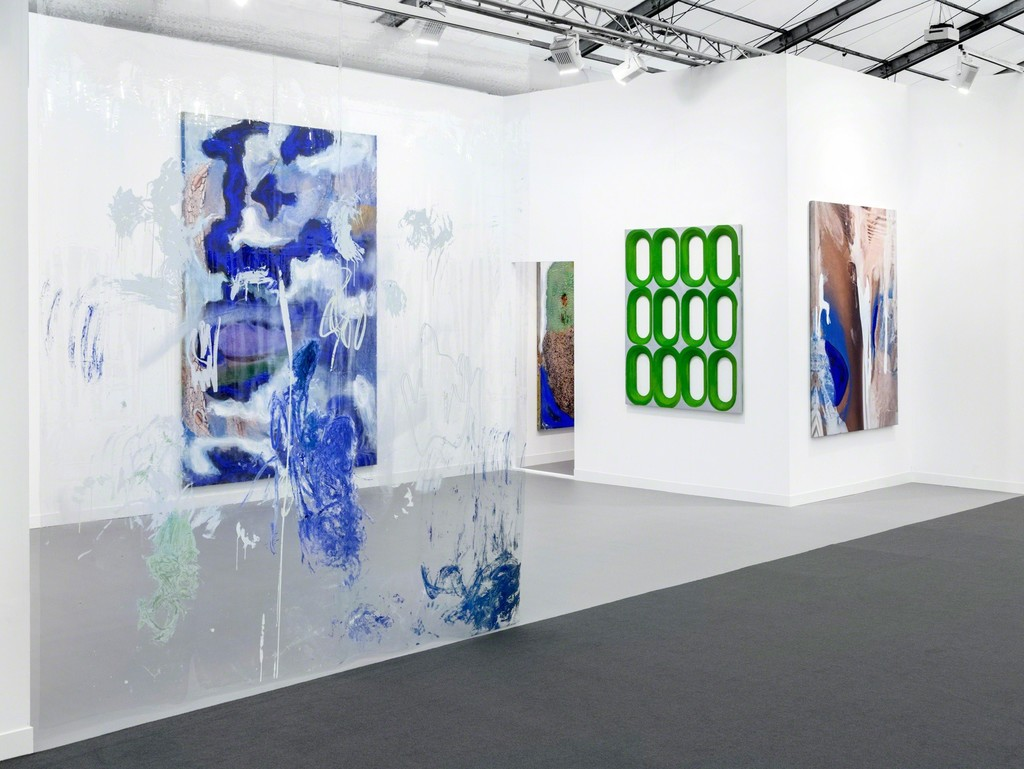 Donna HUANCA, Blair THURMAN, Frieze London 2016, Installation View – Courtesy Peres Projects, Berlin