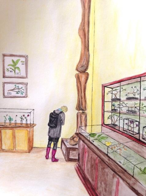 , 'Museum Scene 1,' 2018, Kolja Kramer Fine Arts