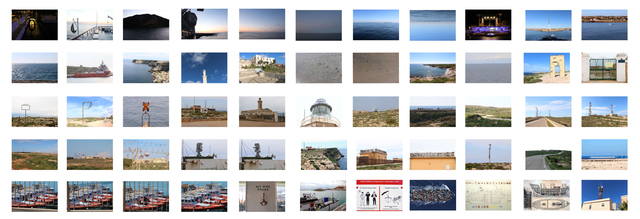 , 'Mapa da ilha de Lampedusa [Map of Lampedusa island] ,' 2015, Portas Vilaseca Galeria
