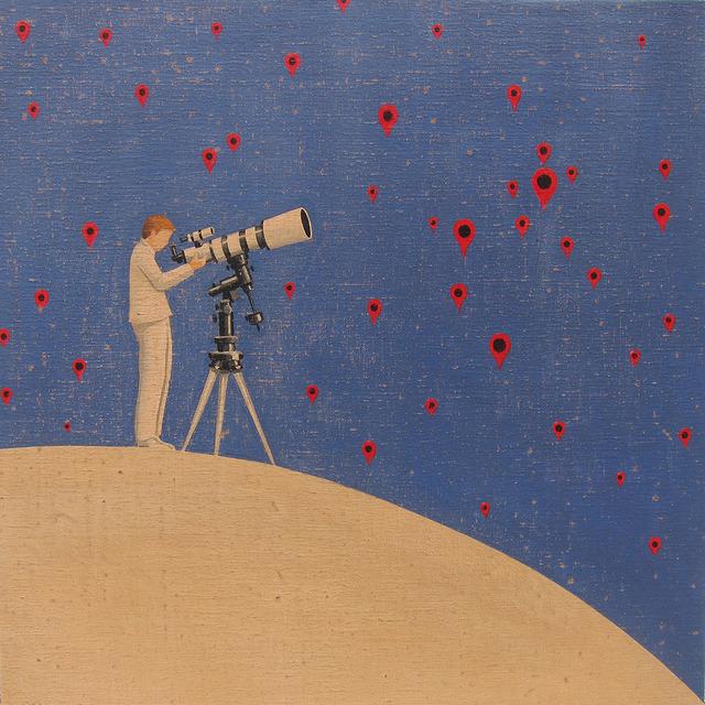 , 'Astronomy google map,' , GALERIA JORDI BARNADAS