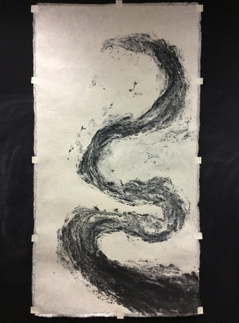 , 'Pulp Painting Serpent (Morph),' 2015, Galerie Crone