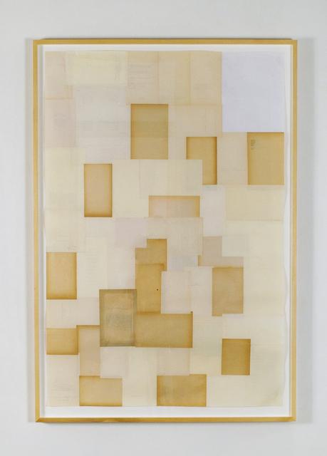 , 'Silent Drawing,' 2010, Josée Bienvenu