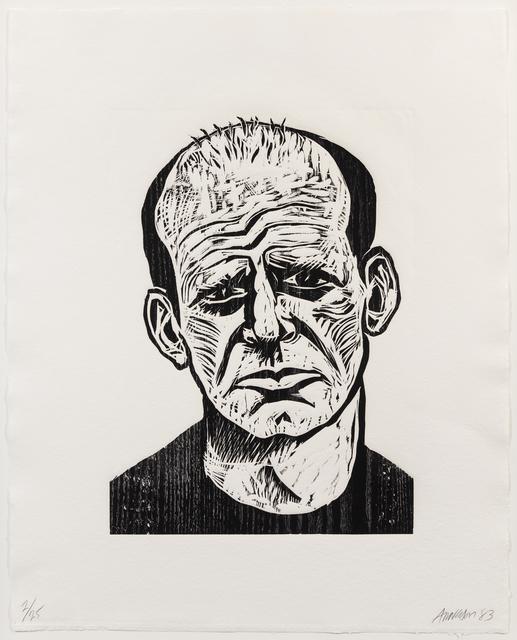 Robert Arneson, 'Jackson Pollock, from Five Guys', 1983, Hindman