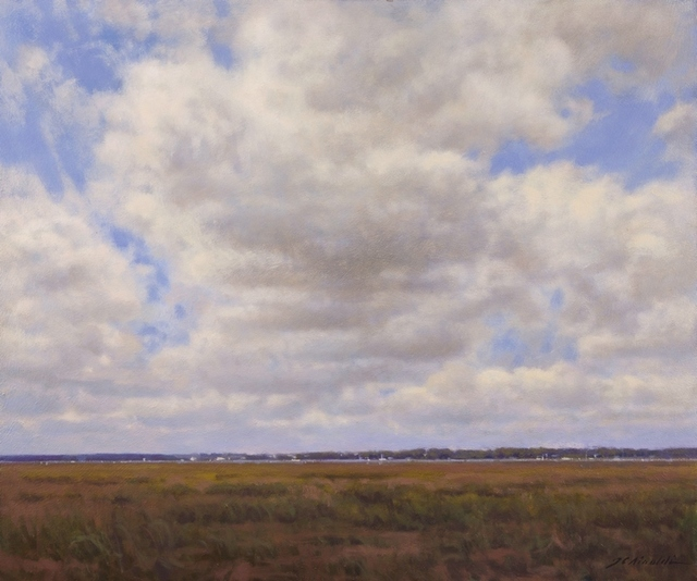Julie C. Airoldi, 'Sky Over the Refuge', 2018, The Guild of Boston Artists