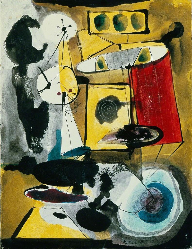 Robert Motherwell, 'The Door,' 1943, Dedalus Foundation