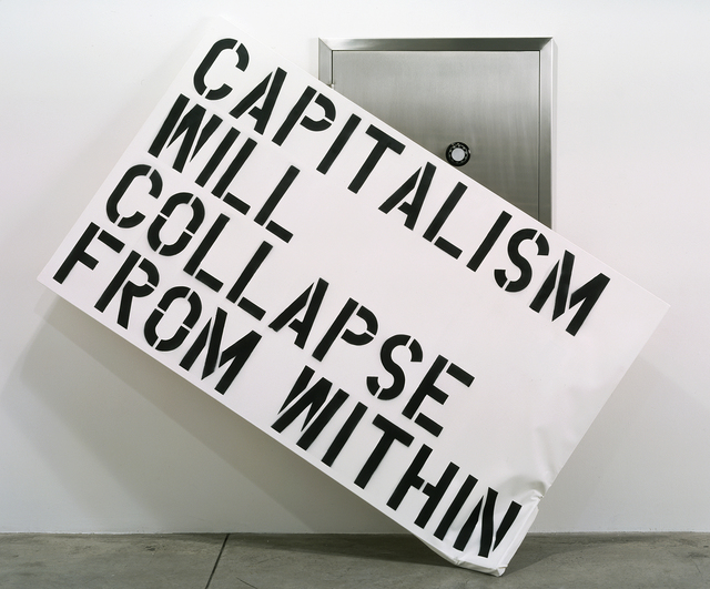 , 'Capitalism Will Collapse From Within,' 2003, Ullens Center for Contemporary Art (UCCA)