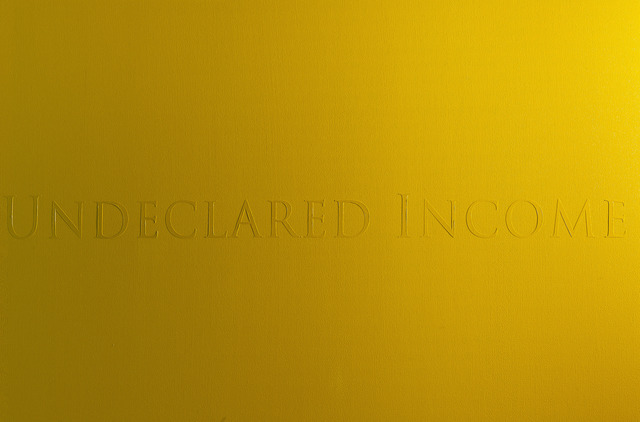 , 'Fiscal Oil Paint, Permanent Yellow,' 2014, Carroll / Fletcher