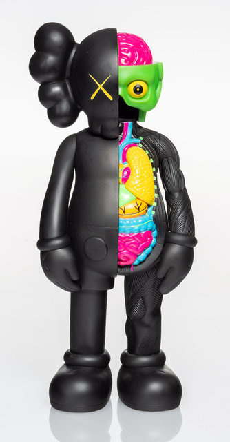 KAWS, 'Dissected Companion (Black)', 2006, Other, Painted cast vinyl, Heritage Auctions