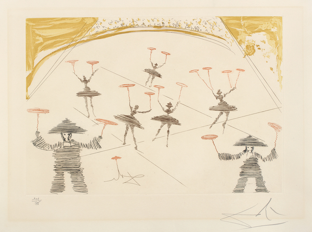 Salvador Dalí, 'Chinois, from Le Cirque (Chinese, from The Circus)', 1965, Phillips