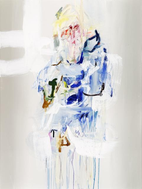 , 'Woman in Blue,' 2017, Wally Workman Gallery