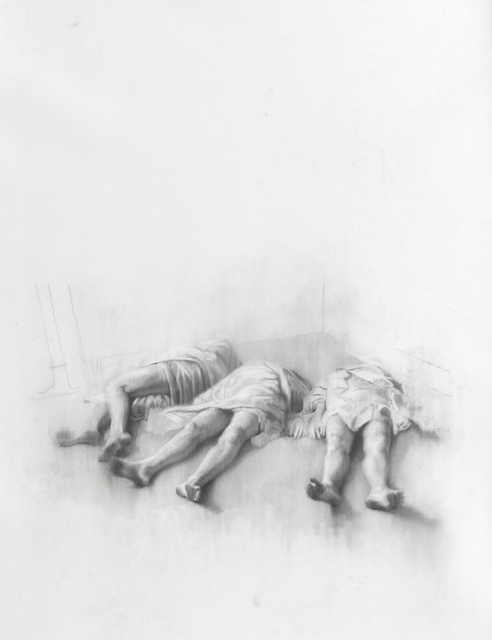 , 'Wanderers Sleeping,' 2017, Booth Gallery