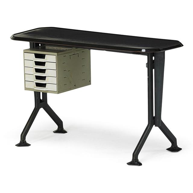 Olivetti, 'Desk, Italy', 1950s, Rago/Wright
