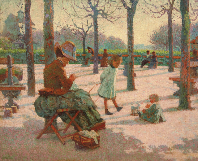 , 'Les Enfants au parc Montsouris,' 1886, Guarisco Gallery