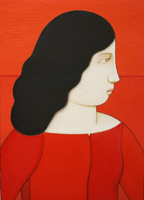, 'Lola Likes Red,' 2016, Adelson Galleries