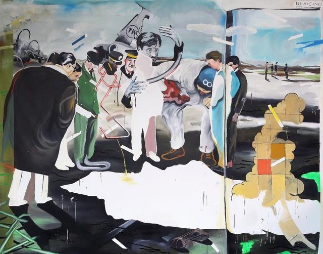 Yann Leto, 'El accidente de Fiumicino', 2017, T20