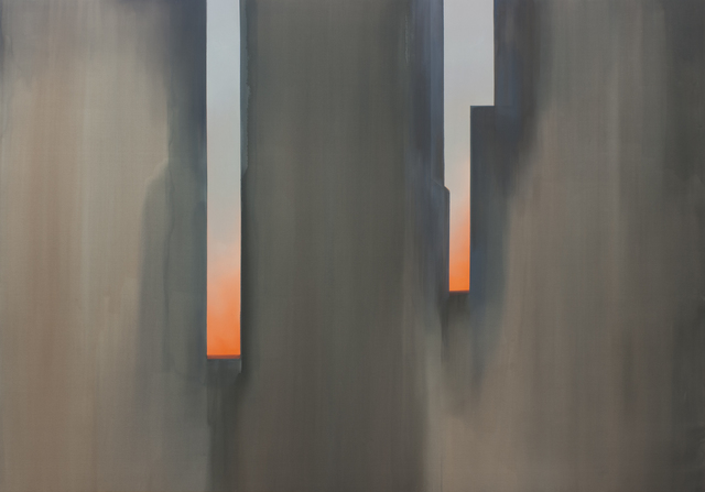 , 'In Absentia (Horizon Orange - Shadow Grey),' 2016, Arsenal Contemporary
